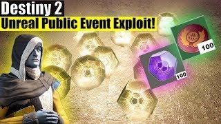 Destiny 2 - Insane Public Event Exploit! Exotic, Legendary & Bright Engram Farming!