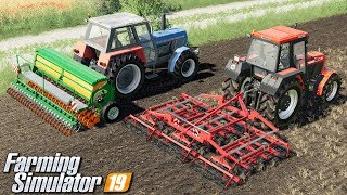 Agregatowanie i siew - Farming Simulator 19   #6