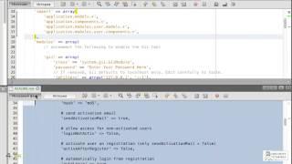 Расширение YII-user. Бесплатный курс PHP (24 урока) модуль 4, урок 2