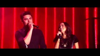 "Zac Efron and Zoey Deutch sing ""Because You Loved Me"" in Dirty Grandpa"