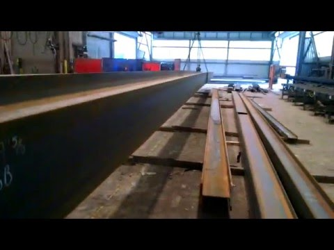 Large Structural Steel Beam Fabrication - New York