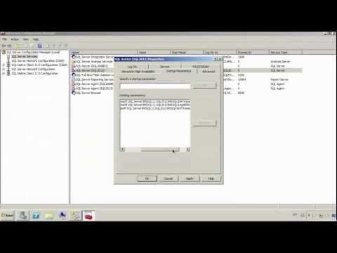 Resolvendo Problemas: Serviço do SQL Server não inicia