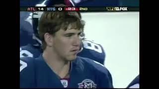 Eli Manning's First NFL Start!