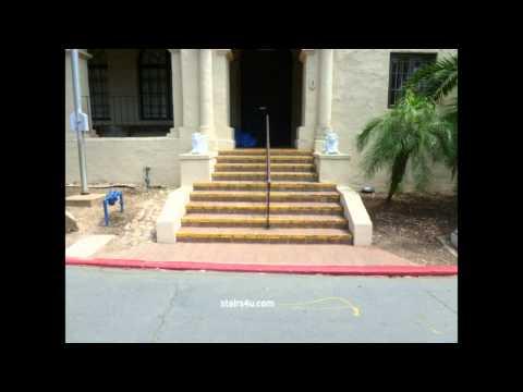 Save Money Installing Center Handrail - Architectural Stairway Design Tips