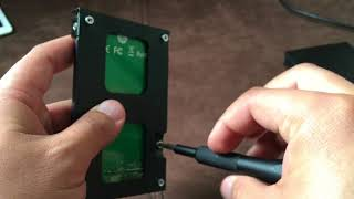 Oyen USB-C Hard Drive Enclosure Unbox and testing
