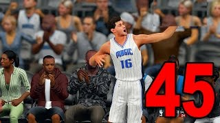 NBA 2K16 My Player Career - Part 45 - DOUBLE DOUBLE! (PS4 Gameplay)