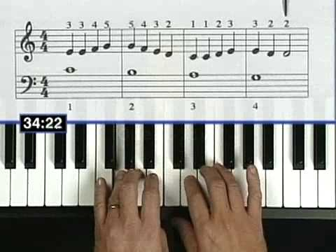 Beginner Keyboard lesson DVD play Piano Video learn - YouTube