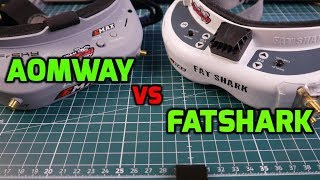 Aomway Commander V1 VS Fatshark // Aomway Commander V1 Review