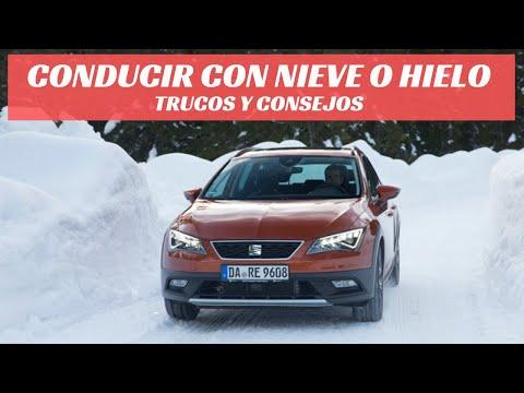 Conducción sobre hielo y nieve: Trucos y consejos