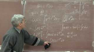 Лекция 124. Преобразование Лапласа. Введение(Приводится определение преобразования Лапласа, образа функции и оригинала. Показаны некоторые приемы,..., 2013-12-14T18:39:36.000Z)