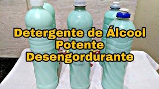 Como Fazer Detergente Desengordurante
