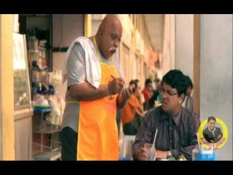 Funniest TV comedy scene in Malaysia ! \