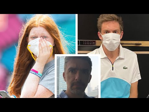 video: Lungs coated with grit and stinging eyes: My experience of Australian bushfires showed these are no conditions for sport