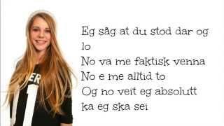 Vanja - Du Sto Der Å Lo ( lyrics )