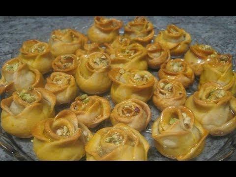 کیک شربتی خانم گل آور باقلوا Baklava | Doovi
