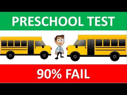 Preschool Test: Left or right