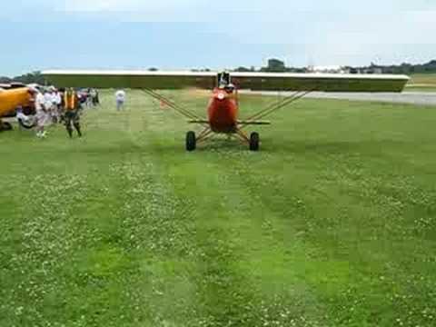 Pietenpol Air Camper Taxing