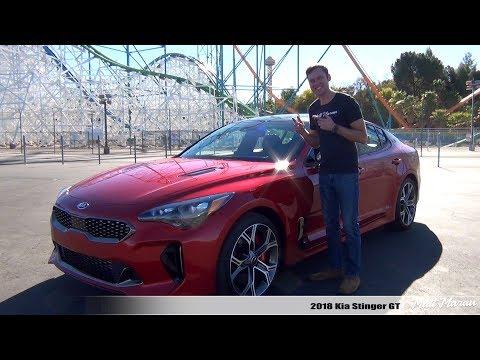 Review 2018 Kia Stinger GT