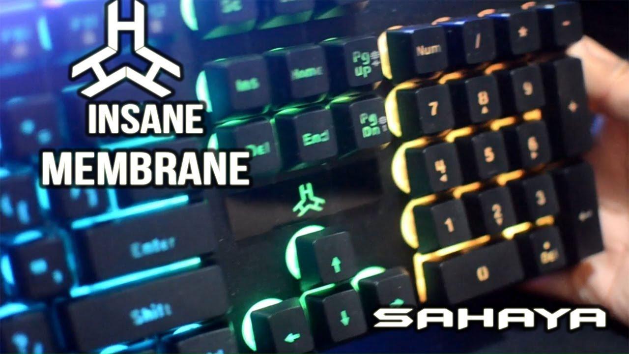 c5337c2b511 Rakk Sahaya *Insane Membrane RGB Keyboard* - YouTube