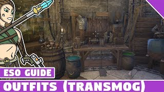 ESO Outfits! How to Change Your Outfit, Outfit Slots Costs and more! Elder Scrolls Online