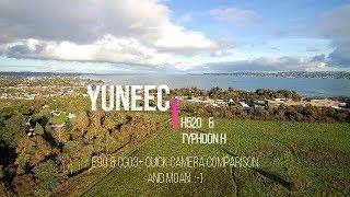 YUNEEC H520 & TYPHOON H,  E90 & CGO3+ CAMERA COMPARISON