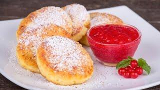 Вкусные полезные сырники на завтрак