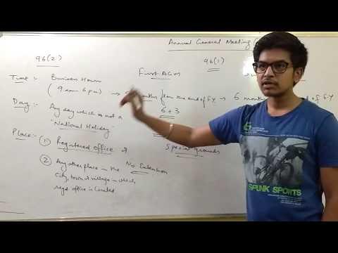 Annual General Meeting by CS Vikram Agarwal