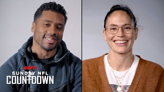 Russell Wilson & Sue Bird Share Stories Of Leading Their Teams | NFL Countdown