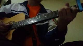 Chuyện tình hôm qua -  hà nhi (guitar cover)
