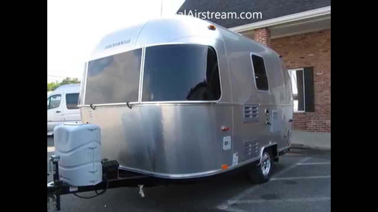 2014 airstream sport 16 bambi small tiny camping trailer rv youtube. Black Bedroom Furniture Sets. Home Design Ideas