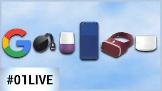 01LIVE HEBDO #114 : Pixel, Daydream, Google Home, Chromecast, le débrief des annonces Google