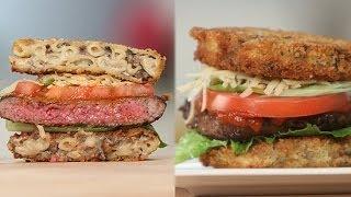 Truffle Mac 'n' Cheese Burger Recipe | Eat The Trend