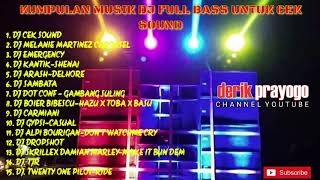 Download lagu Kumpulan DJ buat cek sound full bass dijamin jantungan MP3