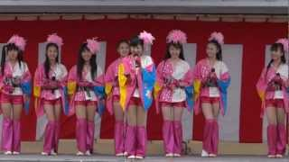 仙台ご当地アイドル・みちのく仙台ORI☆姫隊LIVE(2012.11.11) ☆11/11 S...