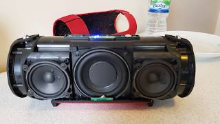 JBL xtreme clone/fake disassembly and speaker layout