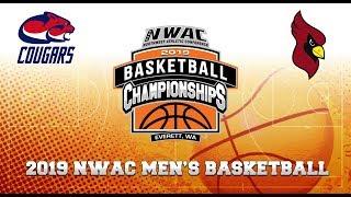 2019 NWAC Men\'s Basketball Game 2 - Clackamas vs North Idaho