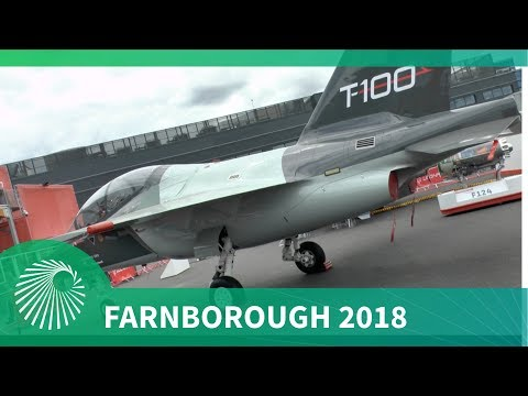 Farnborough Air Show 2018: Leonardo T-100 - An integrated T-X contender for the USAF