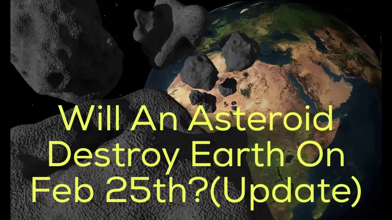 Will An Asteroid Destroy Earth Next Week (Update) - YouTube