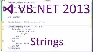 VB.NET 2013 - Strings
