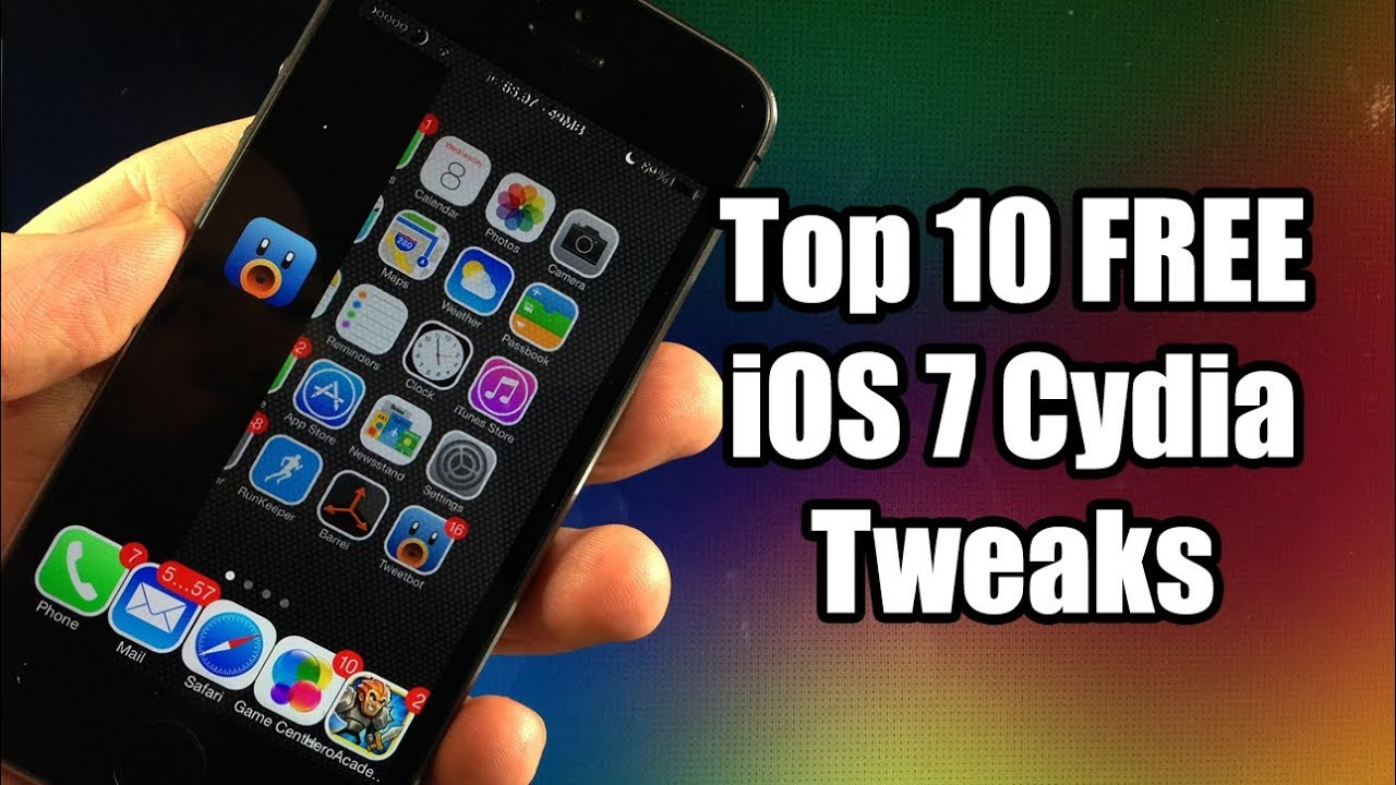 Top 10 Best Free Ios 7 Cydia Tweaks 2014 For Iphone 5s 5c 5 4s 4 Ipod Touch 5g Youtube