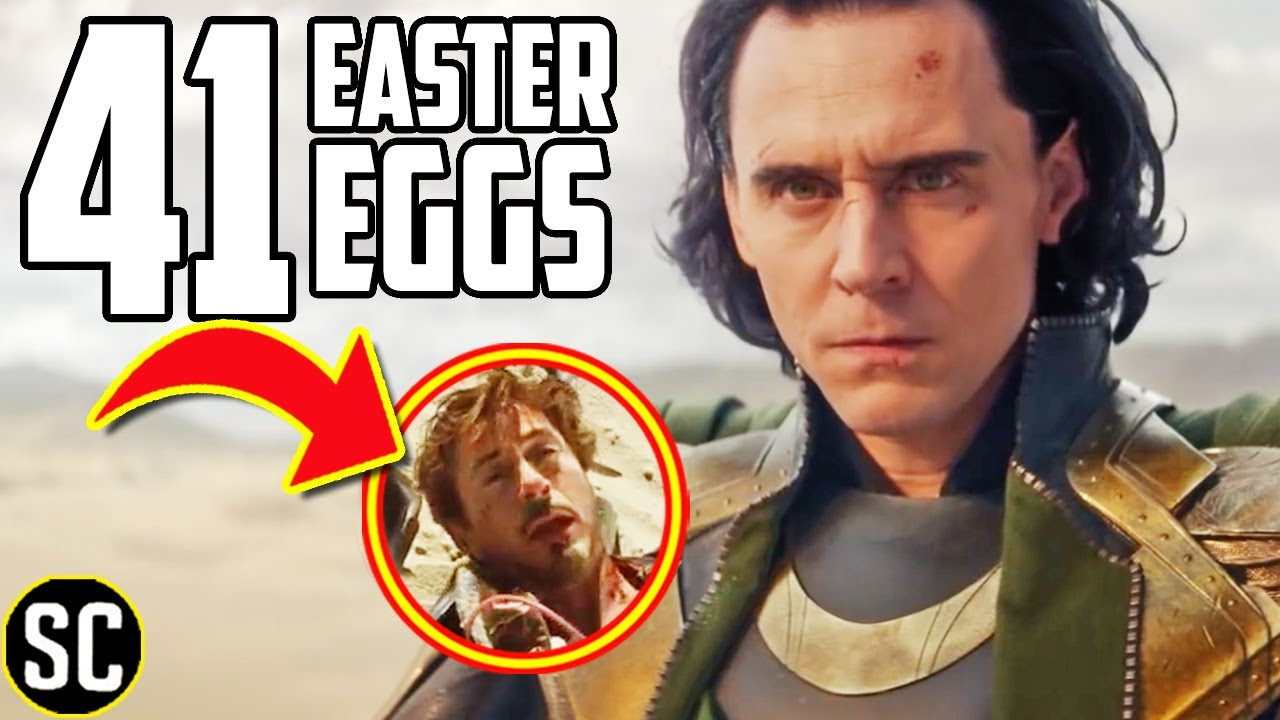 Easter Eggs Loki Trailer