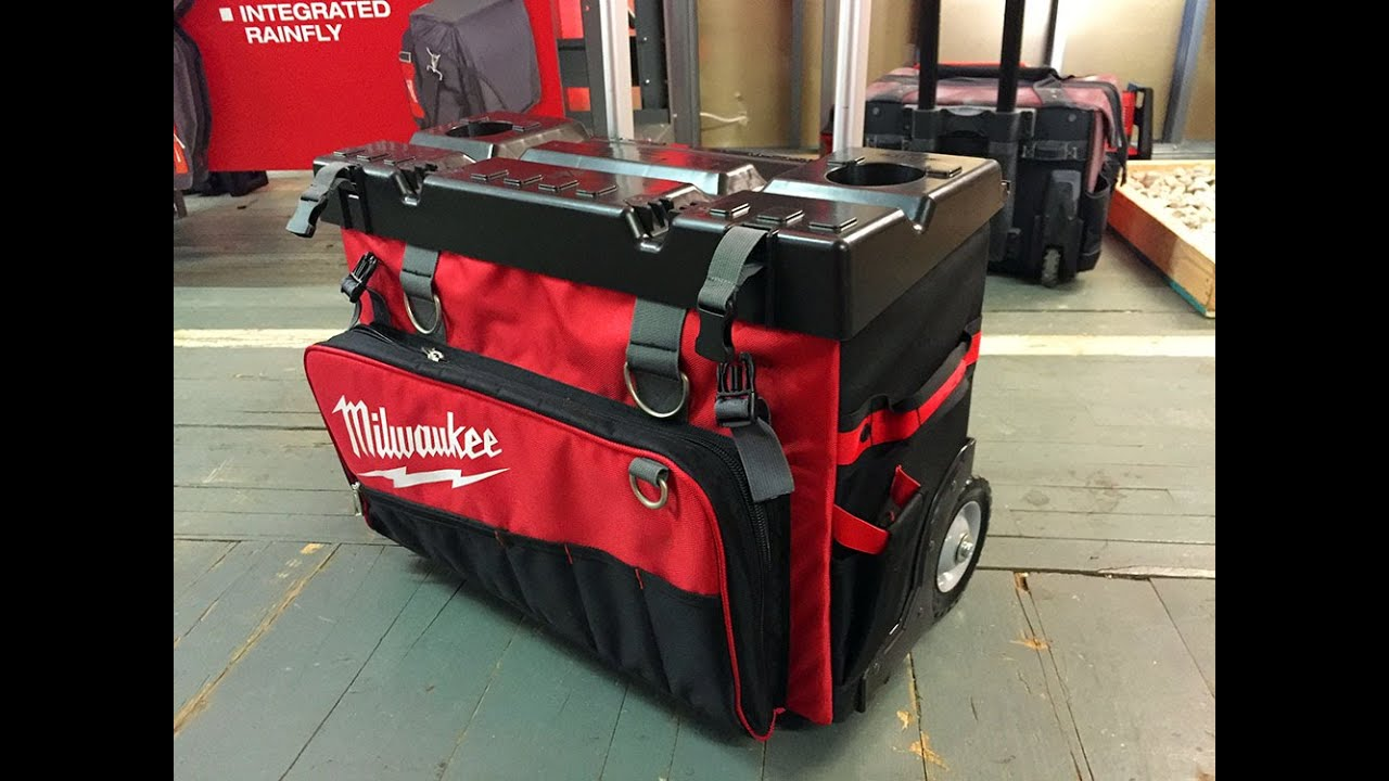 New Milwaukee Tool Soft Storage Bags First Look