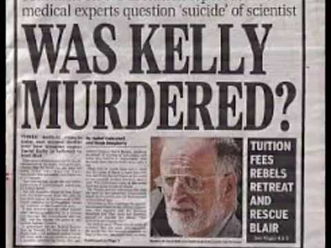 The Death of Dr. David Kelly - Jim Fetzer Phd interviews Laurence de Mello  part 3 of 4