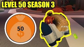 BACON HAIR gets LEVEL 50 CRIMINAL TEAM SEASON 3 | Roblox Jailbreak