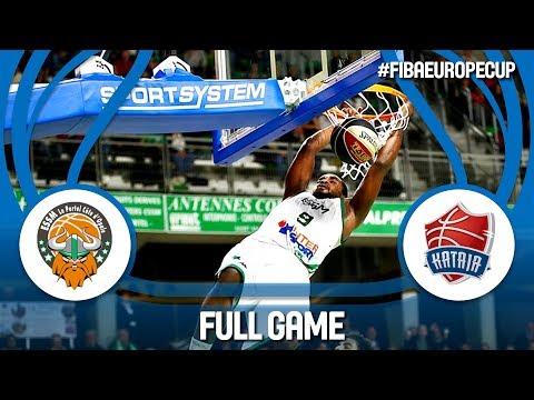 LIVE🔴 - ESSM Le Portel (FRA) v Kataja Basket (FIN) - FIBA Europe Cup 2017-18