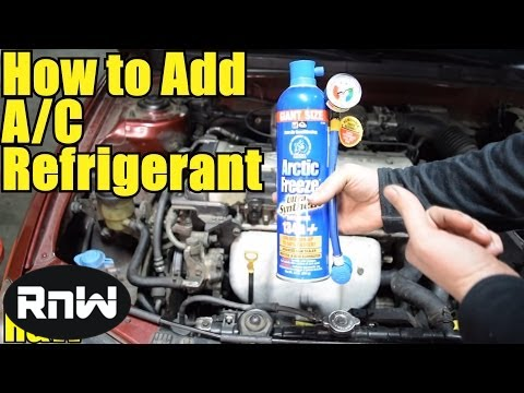 How To Safely And Easily Add Refrigerant Your Cars Ac System