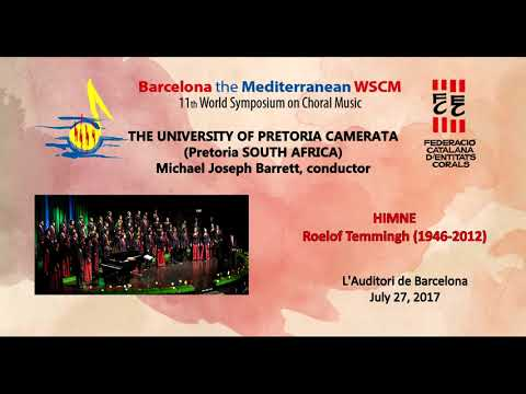 WSCM11 July 27, 2017 THE UNIVERSITY OF PRETORIA CAMERATA (South Africa)