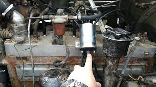 Зил-157кд. Ремонт и настройка системы зажигания. Коммутатор КТ102. РС507Б, Б114, СЭ 107.