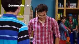 Violetta - Andrés le aconseja a León que hable con Violetta (03x59)