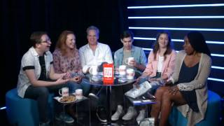 Every Time Will Roland laughs in Never Have I Ever with Cast of Dear Evan Hansen